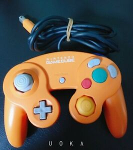 Nintendo Official GameCube Controller Pad Orange Spice GC Wii Japan F/S  DOL-003