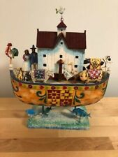 Jim Shore Noah's Ark W/ Rooster Heartwood Creek Collection