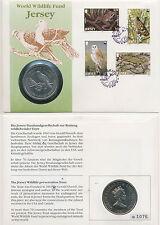 NUMISBRIEF-Gran Bretagna/Jersey - 2 Pounds 1987 UNC-World Wildlife Fund