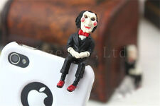 SAW 3D Jigsaw Puppet Doll Anti Dust JACK Cap Plug 3.5mm Plug for Phone