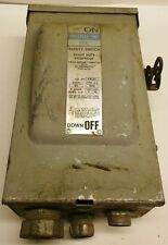 GOULD SAFETY SWITCH FR351, 30 AMPS