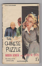 VINTAGE UK PB.CRIME THRILLER.THE CHINESE PUZZLE.NICE COVER ART!