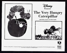 8x10 Photo~ Disney THE VERY HUNGRY CATERPILLAR ~1995 ~Hole In Apple ~Cartoon