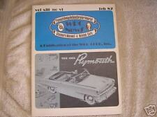 WPC News Plymouth Dodge Desoto Chrysler Feb  1982