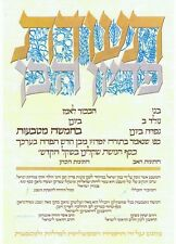 "HUGE  PIDYON HABEN CERTIFICATE W/ CHIEF RABBI AUTHORIZATION SIZE A3 10""x16"""
