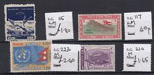 Nepal 1960s Collection of 4 MLH J178