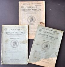 Militaria Esercito Giornale Medicina Militare Educazione Fisica Tubercolosi 1920