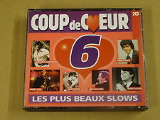 2-CD BOX / COUP DE COEUR - VOLUME 6