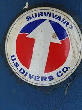 Survivair Half Hour Scba Air Supply Apparatus With Case Vintage