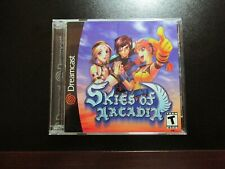 Skies of Arcadia SEGA Dreamcast RPG NEW COMPLETE MINT
