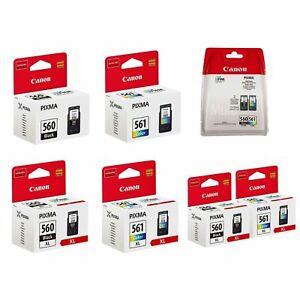 Canon PG560-PG560XL CL561-CL561XL Ink Cartridges for PIXMA TS5351 lot