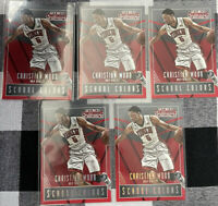 🔥2015-16 Contenders | CHRISTIAN WOOD | School Colors Rookie Lot (5) | QTY!🔥