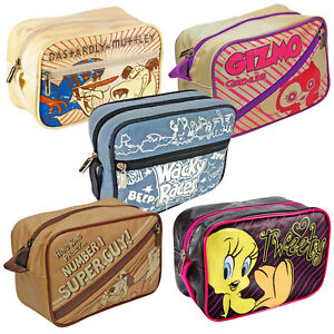 Novelty Washbags. Officially Licensed Travel Accessory Toiletry Make Up Gift
