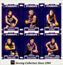2017 Select AFL Footy Stars Trading Cards Footy Standups Team Set (6)-FREM.