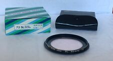 Vintage Carl Zeiss Jena 62mm - 72mm Stepped Skylight 1A Filter