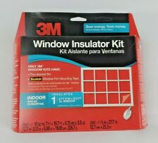 "3M Xl Indoor Window Film Insulator Insulation Kit 6'8"" x 19'5"" New"