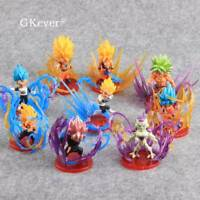 9 Dragon Ball Z Figure Vegeta Super Saiyan Son Goku PVC Action Figure Model Toys