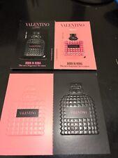 Carte À parfumée Born In Roma De Valentino  Avec Patch