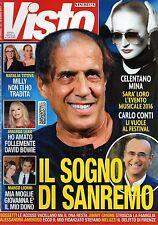 Visto 2016 4.Adriano Celentano-Mina,Kim Rossi Stuart,Ennio Morricone,Amanda Lear