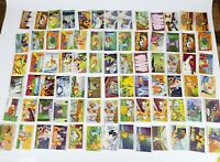 Huge Lot Of (80+) Rare Vintage Richs Coffee Lady Bambi Dumbo Trading Cards