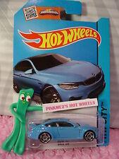 Case G/H 2015 i Hot Wheels BMW M4 #24∞Blue; pr5 ∞HW City ∞Street Power