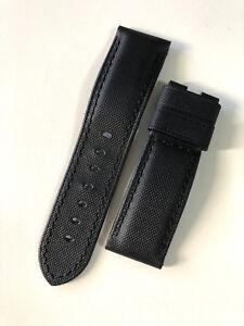 PANERAI BLACK NYLON 24-22mm - 100% ORIGINAL