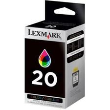 GENUINE AUTHENTIC LEXMARK 20 COLOUR INK CARTRIDGE 15MX120E