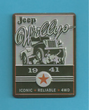 Jeep - Willys 1941 - ICONIC * RELIABLE * 4WD - Metal Magnet - New