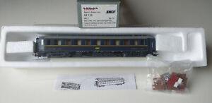 SNCF/CIWL LS MODELS VOITURE LITS  HO-DC 2 RAILS- N° 49125