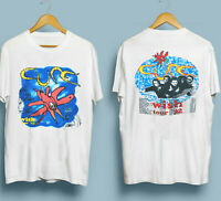 Vintage 1992 The Cure Wish Tour T Shirt VTG 90s Band Tee Robert Smith, Reprint
