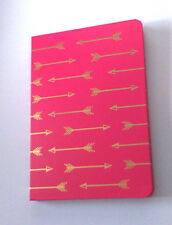 Gold flèches A5 NOTEBOOK Cupidon Tir à L'Arc JOURNAL doublé pages Love Pink st-valentin