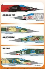 Authentic DECALS 1/32 MiG-23M/MiG-23MF Flogger B # 3201