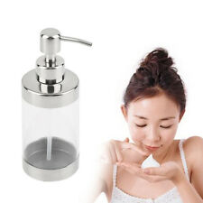 Stainless Steel Press Soap Dispenser Liquid Hand Washing Shampoo Pump KTV GU