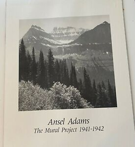 Ansel Adams The Mural Project Poster Print on Board 22 x 28 Unframed
