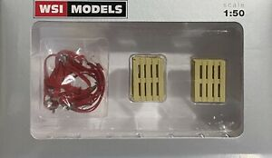 straps and pallets(WSI cargo)1:50 WSI truck models
