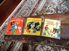 Little Golden Book Lot (3) Animal Orchestra; Lively Little Rabbit; Tommy Visits