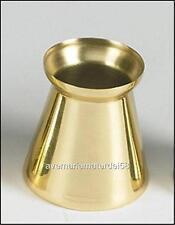 "Catholic Church 2 1/2"" Inch Socket Brass Follower Candle Stick Accessory"