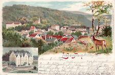 AK, Bad Liebenstein - Panorama, 1900 (D)5026-1