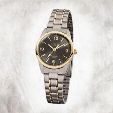 Relojes de pulsera titanio fechas de plata