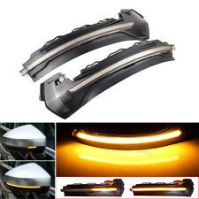 For AUDI A3 S3 8V 13-18 Dynamic Flow Mirror Indicator Blinker Turn Signal Light