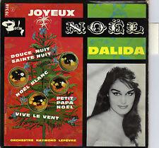 DALIDA JOYEUX NOEL FRENCH ORIG EP RAYMOND LEFEVRE