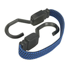 Flat Bungee Cord 380mm Straps Cargo Roof Tie Down Trailer Camp Heavy Duty Strap