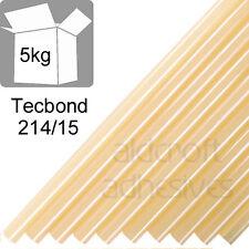 TECBOND 214/15 Hot Melt 15mm, 5kg box Amber,Packaging, Glue Sticks