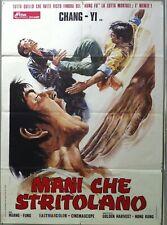 35mm MANI CHE STRITOLANO (1972?). Martial arts rarity! Italian language film.