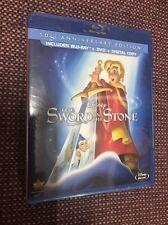 DISNEY THE SWORD IN THE STONE(BLU-RAY+DVD+DIGITAL COPY)50TH ANNIVERSARY EDITION