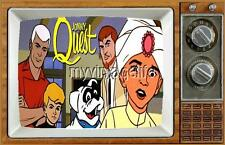 "JOHNNY QUEST TV Fridge MAGNET  2"" x 3"" art SATURDAY MORNING CARTOONS"