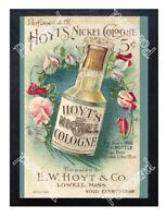 Historic Hoyt'S German Cologne Advertising Postcard 1