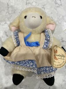 Robin Rive plush Sheep soft toy doll Country Life Small Makes sound Small
