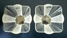 J & G DURAND France - Pair of Bonbon / Candy Dishes - Compotier