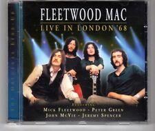 (HG538) Fleetwood Mac, Live In London '68 - 2001 CD